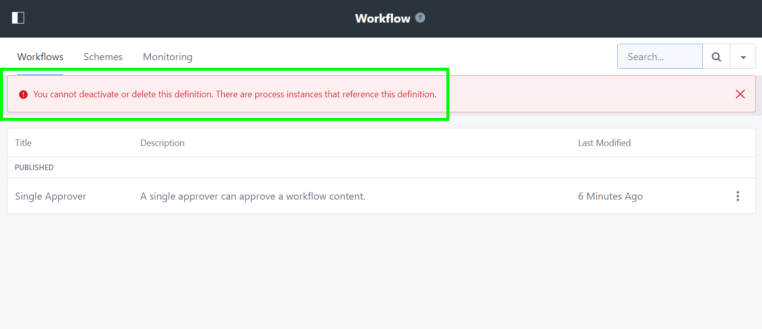 LPS-74790] Is possible deactivate a workflow definition with
