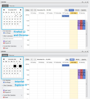 Enterprise Calendar - In IE9 the small calendar is showing a black box instead of a small triangle in the top right corner.jpg
